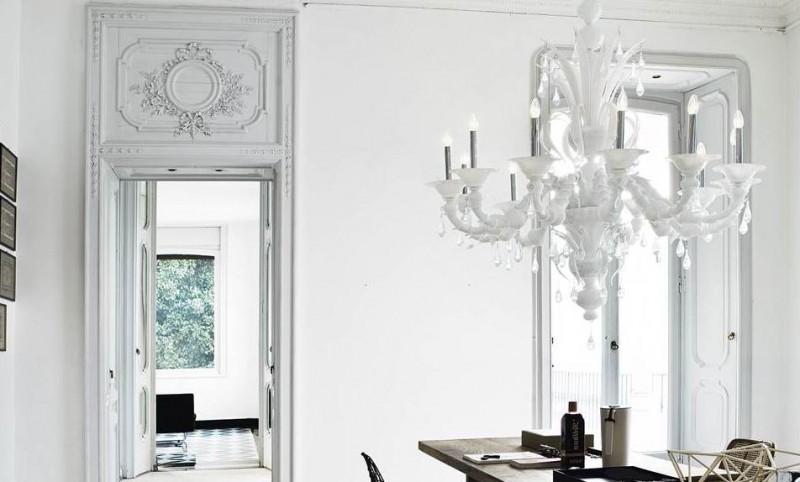 L illuminazione decorativa per interni e l arte del vetro secondo