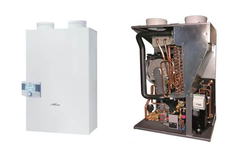 Una caldaia a condensazione a gas e una pompa di calore in un solo ...